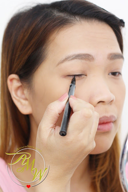 a photo of Browhaus Precision Eyeliner (Black)