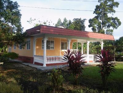 Ini Dia Inspirasi Bentuk Sederhana Rumah Di Desa Dan Kampung Sikut Dewa