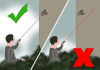cara hack kamera cctv led laser langkah 2