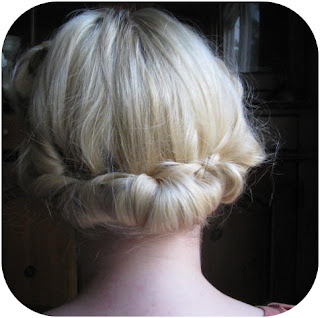 quick and easy vintage hair victory rolls with a hair rat and gibson tuck summer retro hairstyle tutorial