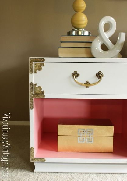 Campaign Coral Nightstand
