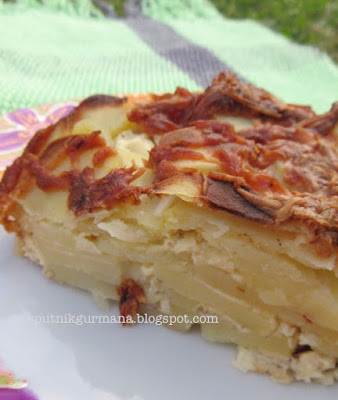 Подача на стол картофеля по-савойски