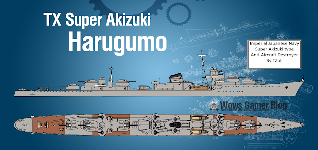 Super Akizuki Possible TX Harugumo