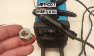 Gamabar welding dan nut