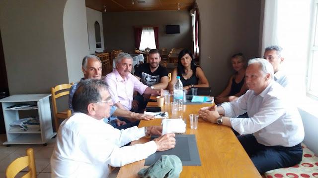 Συνάντηση του Διοικητικού Συμβουλίου της Ένωσης Κάμπινγκ Αργολίδας-Πελοποννήσου με τους βουλευτές Αργολίδας