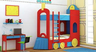 dormitorio infantil con litera