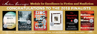 Andrew Carnegie Medals For Excellence In Fiction And Nonfiction 2018 Finalists on ALA