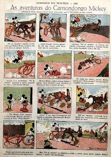 Mickey - Ub Iwerks - Disney - Tico-Tico