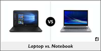 What's The Difference Between A Laptop And A Notebook