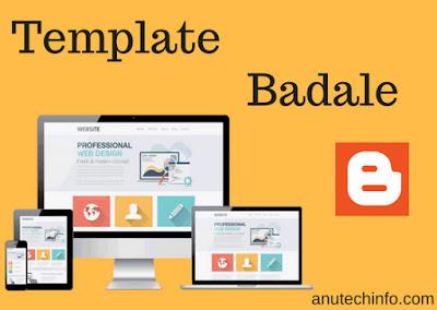 blogger me template kaise upload kare