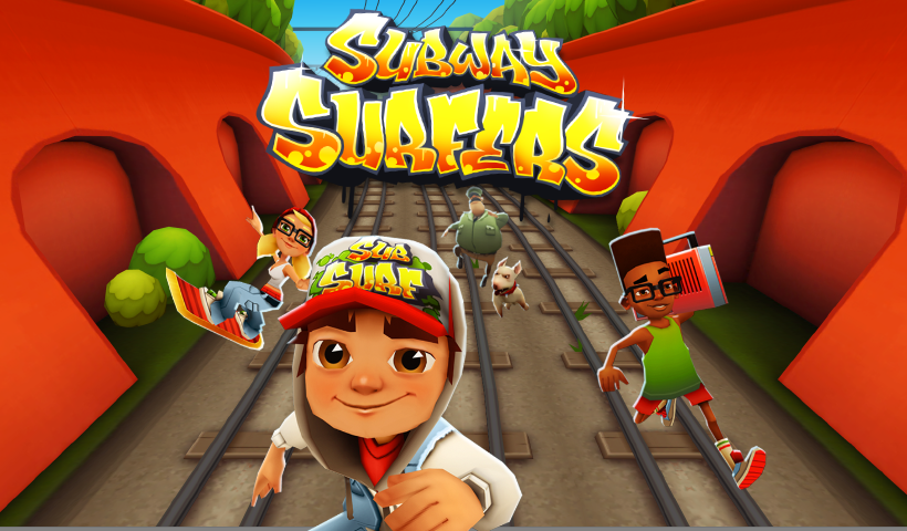 Subway Surfers for PC Free Download Full Version for Windows 7,XP,Vista,8