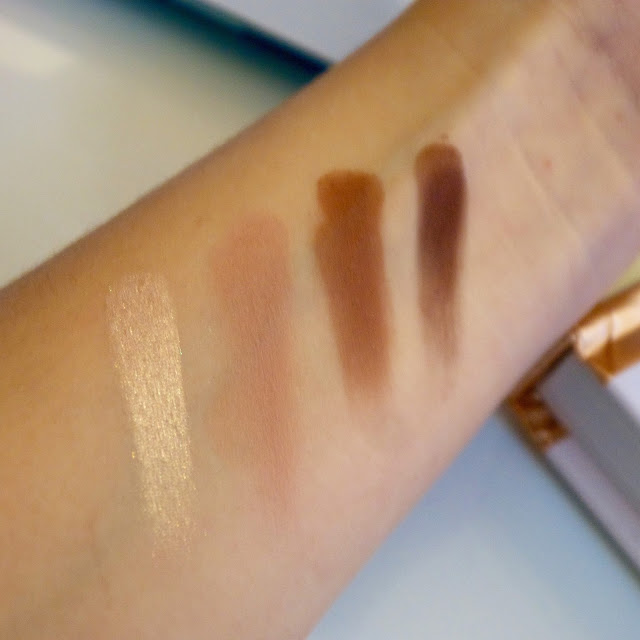Tart Tartelette in bloom swatches