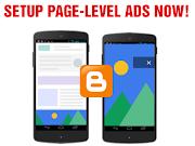 Cara Memasang Iklan Adsense Page Level