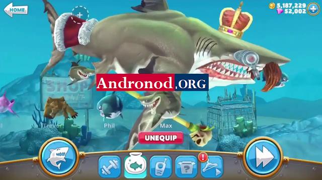 Download Hungry Shark World Mod Apk Data Latest