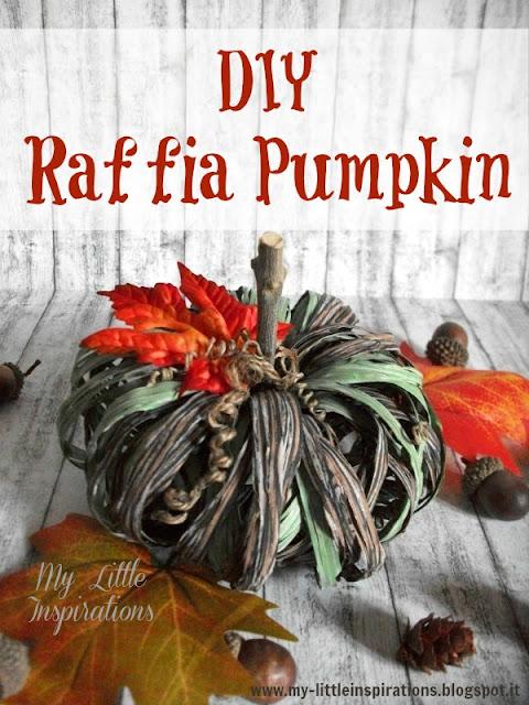 Raffia Pumpkin 1 - MLI