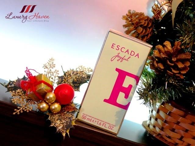 escada joyful edp fragrance christmas gifts