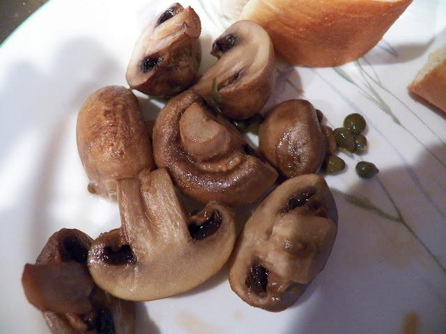 Garlic Baked Mushrooms