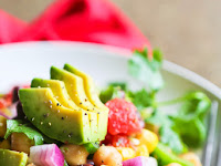 Loaded Veggie Salad with Chickpeas and Black Beans Recipe