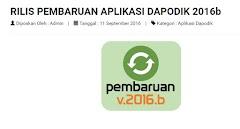 Download Aplikasi Dapodik 2016b Pembaharuan Sistem Pacth Dan Instaler
