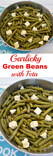 Easy butter smothered Green Bean side dish especially for garlic lovers !