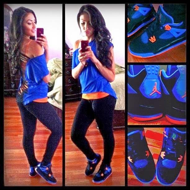 3f5b512f9ce Girls Air Jordan 4 Retro Cavaliers are available for sale | Cheap ...