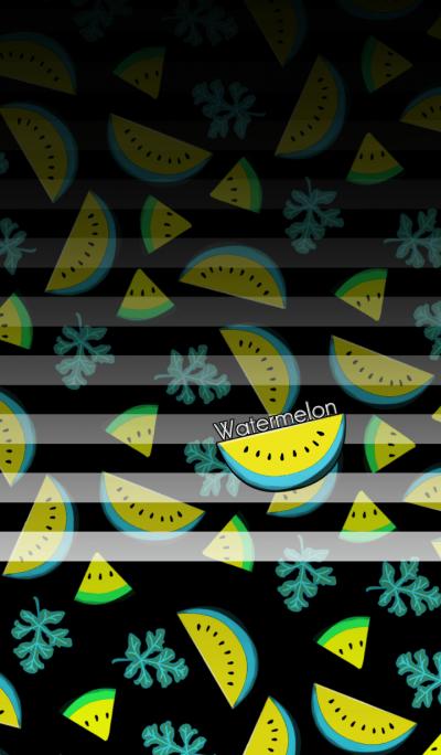Yellow watermelon -SUMMER-