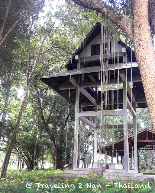 Old crematorium in Pua, Nan - Thailand