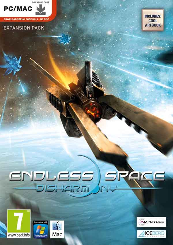 Endless Space Dishormony Download Cover Free Game