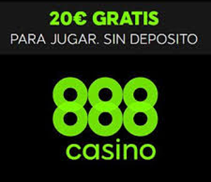888 casino Bono sin depósito de 20€