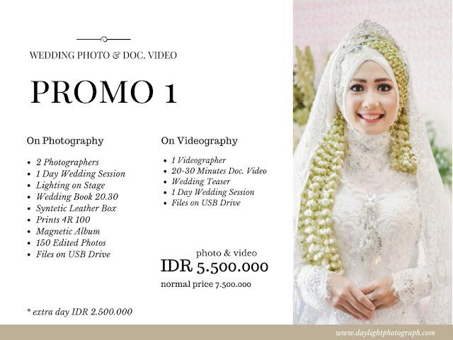 Promo Wedding Photo & Video Yogyakarta 2018