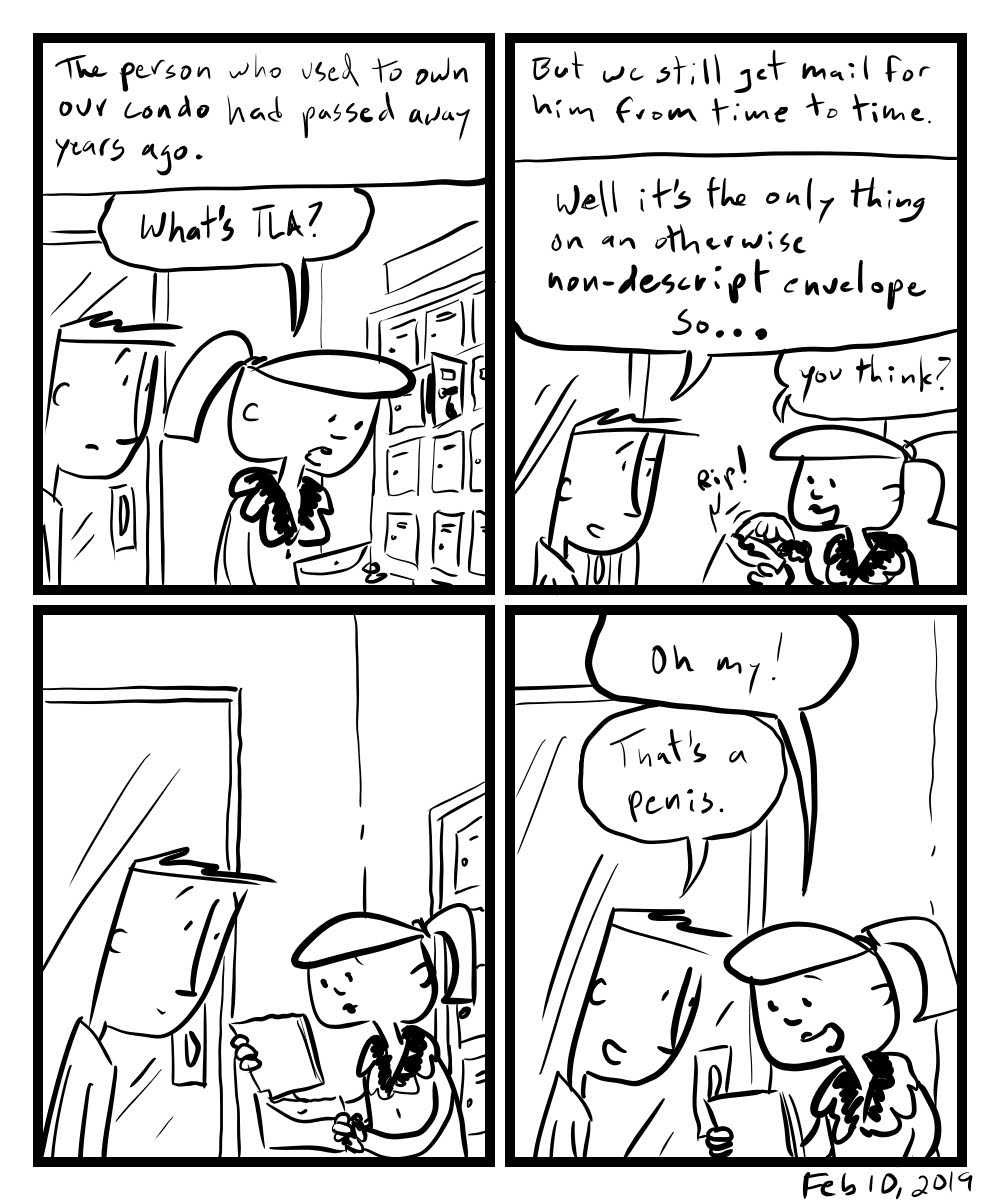 Then This Happened Comic.