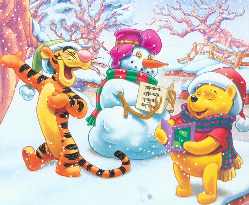 Free Christmas Wallpapers: Disney Christmas Wallpapers