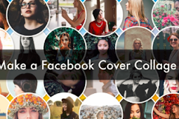 Facebook Cover Photo Collage Template 2019