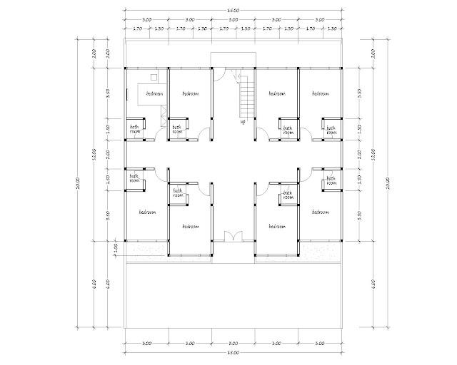 Boarding house plan 06
