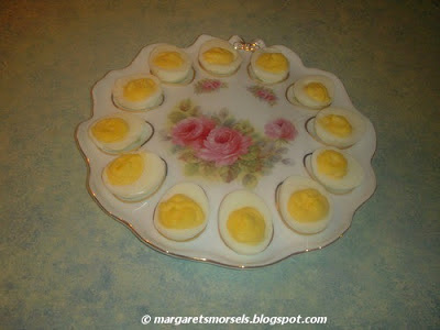 Margaret's Morsels | Deviled Eggs