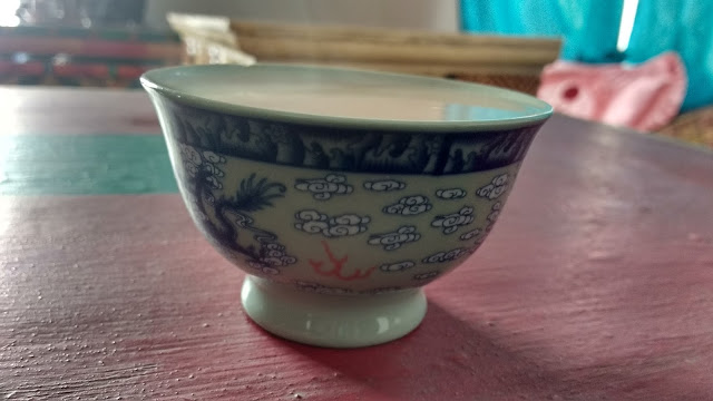 Traditional ladakhi cup
