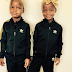 Photogist: Madonna's Newly Adopted Twin Girls Are Settling In Well As They Rock Adidas