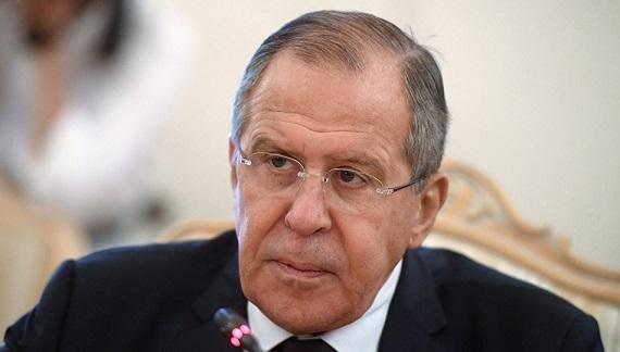 سيرغي لافروف: يجب رفع الإجراءات القسرية المفروضة على سورية
