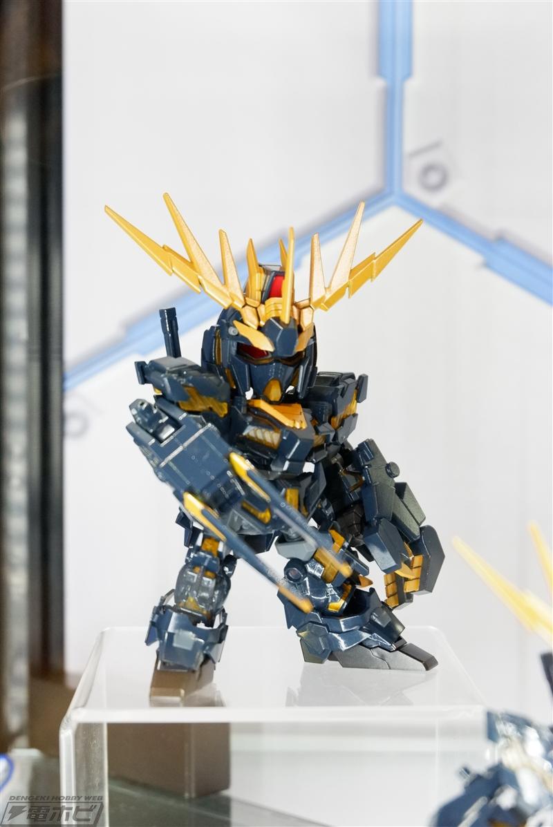 SDCS Unicorn Gundam 02 Banshee Exhibited at C3 AFA Tokyo 2018 - Gundam Kits Collection News and Reviews
