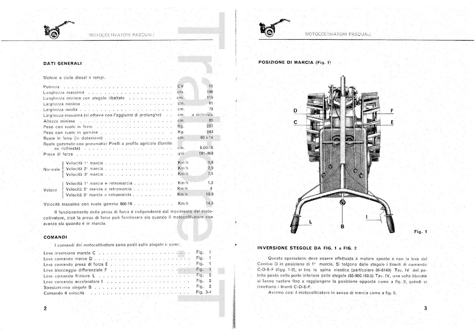 InfoTrattore.it: Motocoltivatore Pasquali 904 CV 13