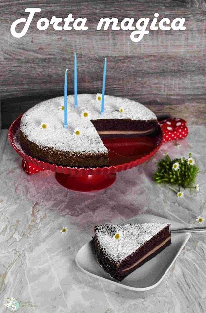 Zauberkuchen Wunderkuchen mit Schokolade