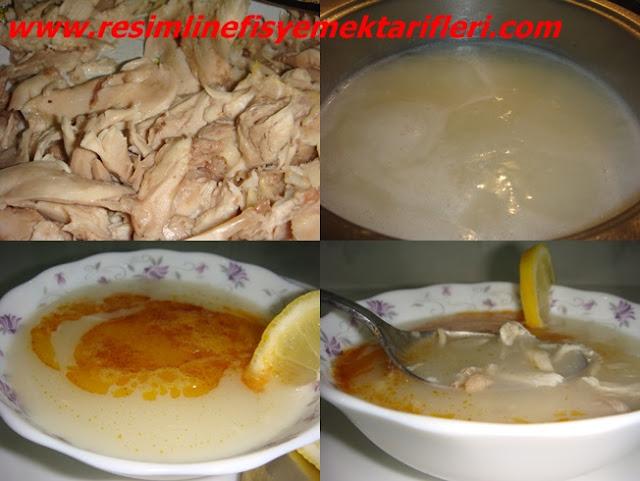 tavuk çorbası nasıl yapılır