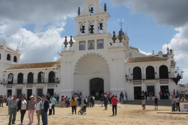 kerk in El Rocio, Spanje