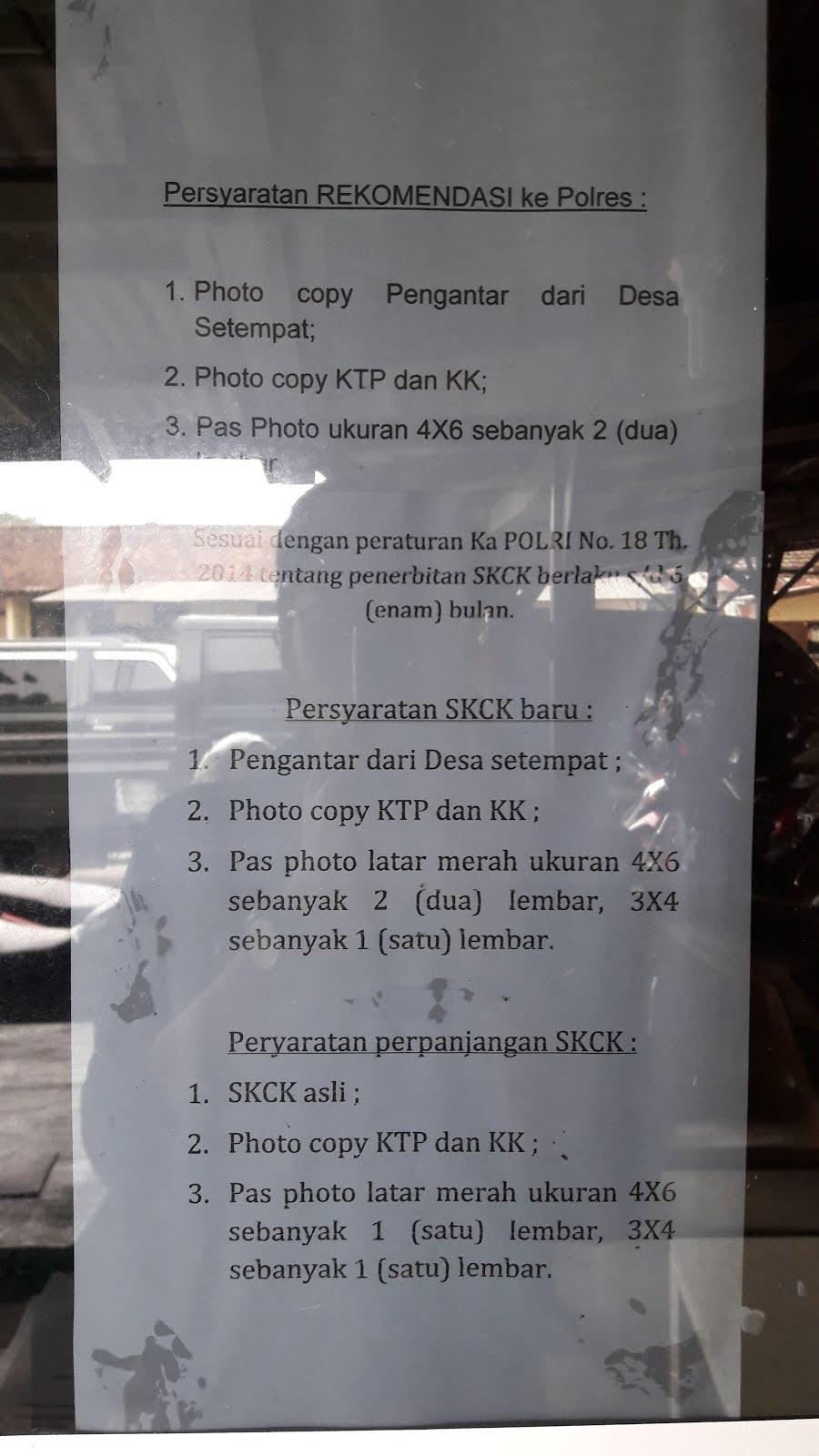 Bandung Semua Pembuatan Skck Di Polsek Di Bandung