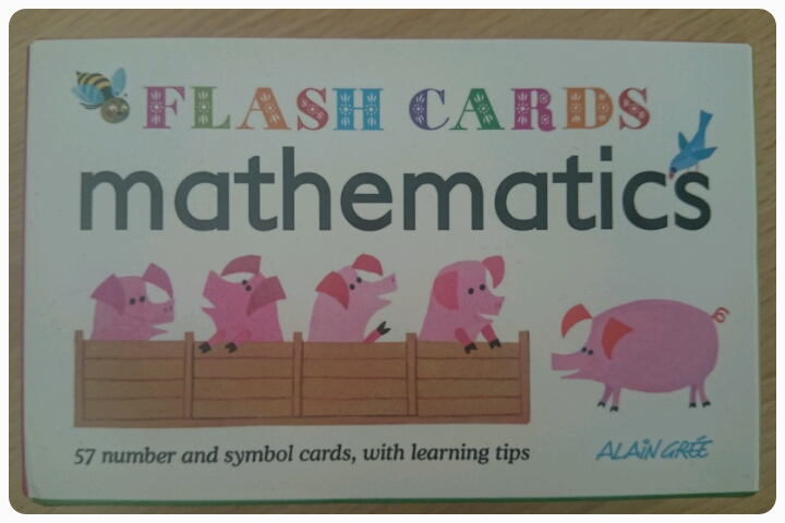 mathematics flash cards