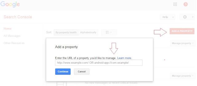 ब्लागस्पाट ब्लॉग की साइटमैप गूगल कंसोल में कैसे जमा करे?