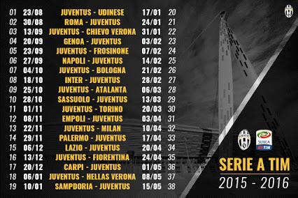 Juve Calendario Campionato.Biglietti Juventus Stadium Calendario Serie A Roma