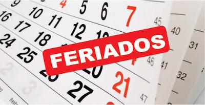 Feriados perú 2018