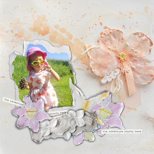 scrapbooking digital clindoeildesign clin d'oeil design Dawn Inskip a beautiful soul collection