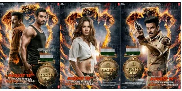 Satyameva Jayate 2018 HD-Rip Hindi 480p 400MB